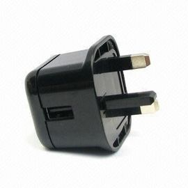 China 5.0V 100mA Universal USB Power Adapter Flat Computer Charger with Safe Design, UL, GS, CE, CCC, FCC Approvals factory